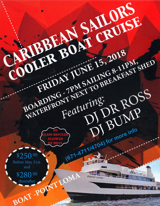 Annual Boat Cruise - 'Caribbean Sailors'
